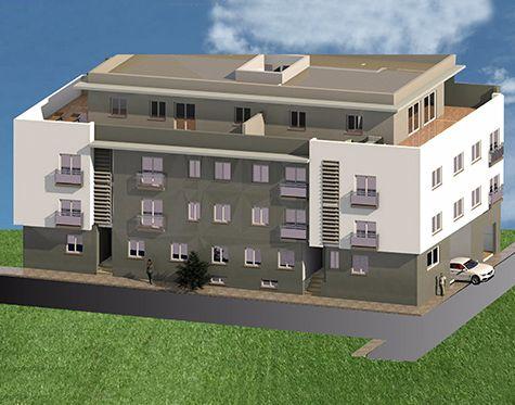 Pisos Edificio Nueva Espuña en Alhama de Murcia. 4 Viviendas tipo piso, con 1 ó 2 dormitorios, 1 baño, salón-comedor-cocina y lavadero. Vende Bavinor S.L.